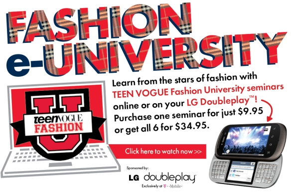 Teen Vogue Fashion University